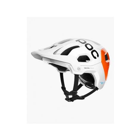 POC Tectal Race SPIN NFC Hydrogen White/Fluorescent Orange