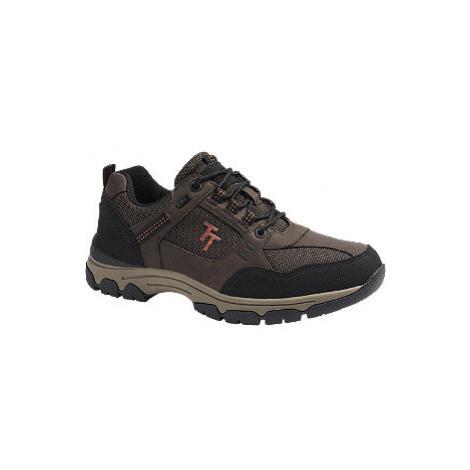 Hnědá outdoorová obuv Tom Tailor