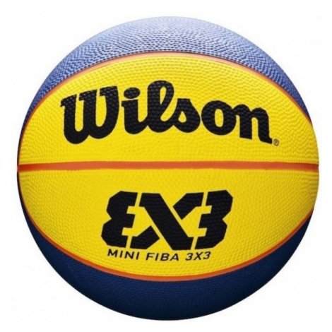 Wilson FIBA 3X3 MINI RUBBER BSKT - Mini basketbalový míč