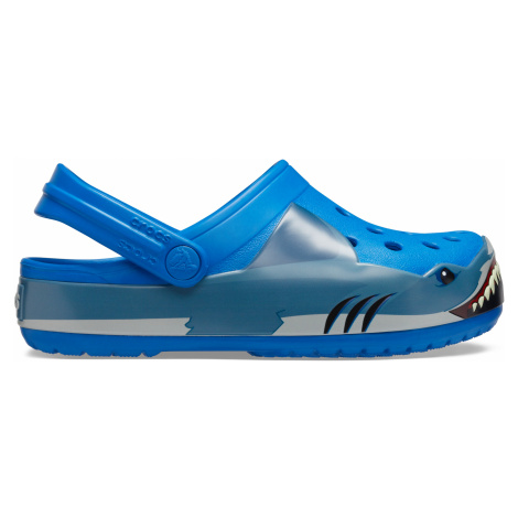 Crocs Crocs Fun Lab Shark Band Clg K Bright Cobalt C8