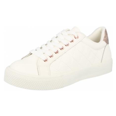 NEW LOOK Tenisky 'MILTINI' bílá / růžově zlatá
