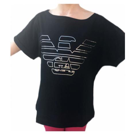 Dámské tričko Emporio Armani 164008 černé | černá