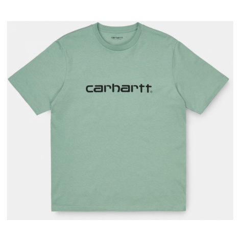TRIKO CARHARTT Script S/S - zelená Carhartt WIP