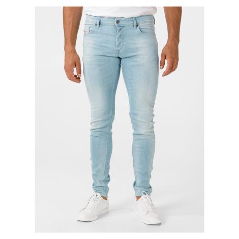Troxer Jeans Diesel Modrá