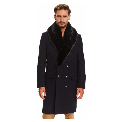 Men's coat Top Secret Fur detailed