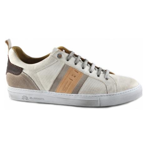 Polobotky La Martina Man Shoes Maya - Maya Perforate - Bílá