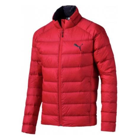 Puma WARM PACKLITE 600 DOWN červená - Pánská zimní bunda