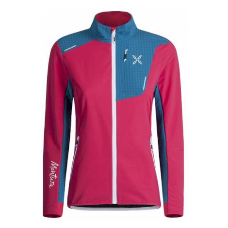 Montura dámská bunda Ski Style, růžová/modrá