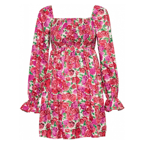 Missguided Šaty pink / mix barev