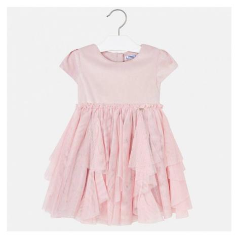 Dívčí šaty MAYORAL 4924 | růžová