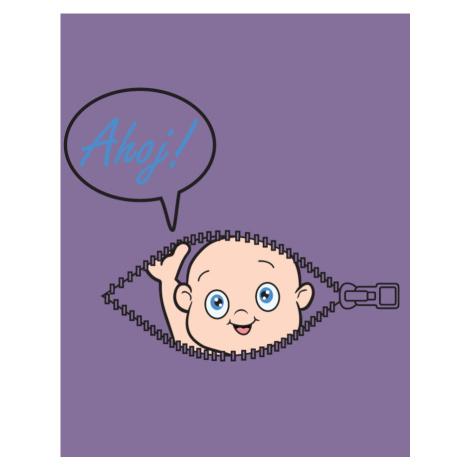 Těhotenské Tričko s motivem Kuk z bříška - tenhle potisk si zamiluješ! BezvaTriko