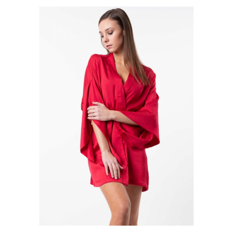 Dámské kimono Guess O92X03 Červená