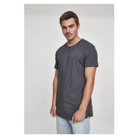Shaped Long Tee - charcoal Urban Classics