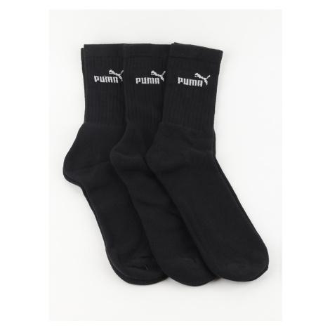 3PACK ponožky Puma černé (241005001 200) L
