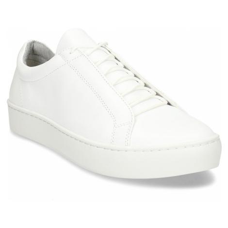 Bílé kožené dámské tenisky Vagabond