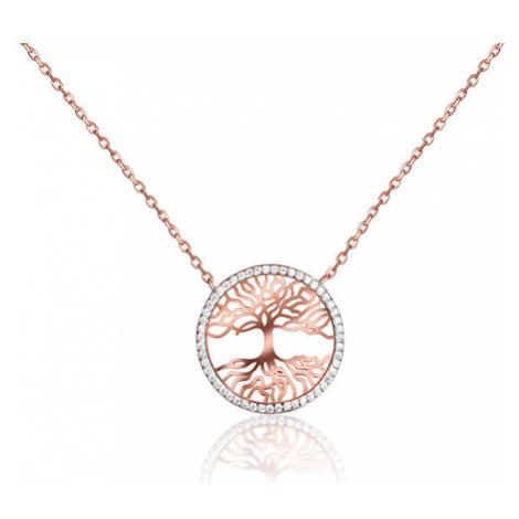 JVD Pozlacený náhrdelník Strom života SVLN0156XH2RO45