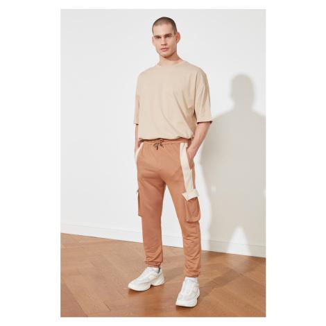 Trendyol Beige Men's Tracksuit bottom