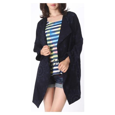 Modro-černý kabátek Desigual
