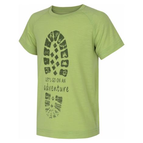 Husky Zingl Kids, sv. zelená Dětské triko