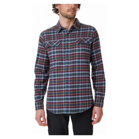 Košile Columbia Flare Gun™ tretch Flannel - vínová, šedá