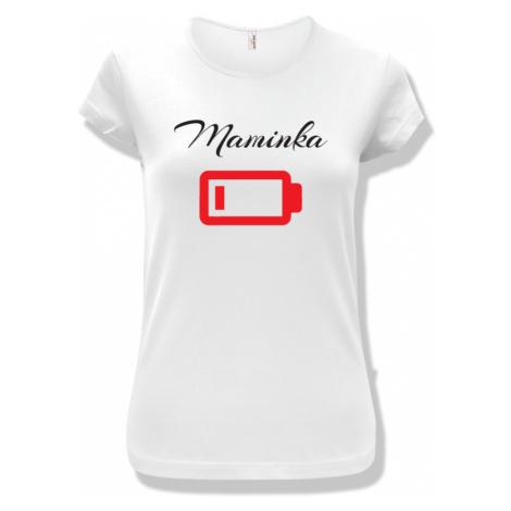 Originální rodinný set triček s dětským body Vybité baterky BezvaTriko