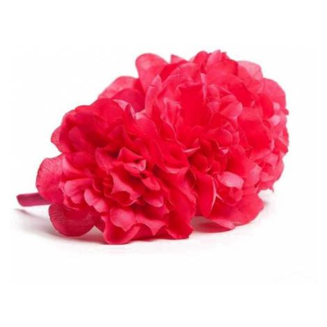 Fuchsiová čelenka s květinami Florisse