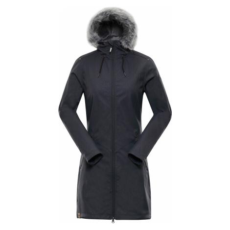ALPINE PRO PRISCILLA 4 INS. Dámský softshellový kabát LCTP100779 tmavě šedá