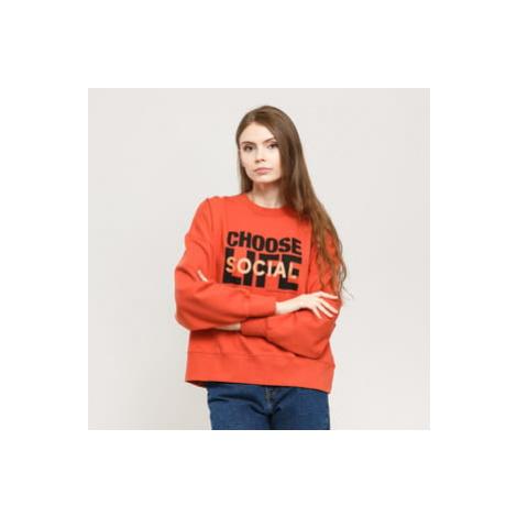 WOOD WOOD Patti Sweatshirt tmavě oranžová