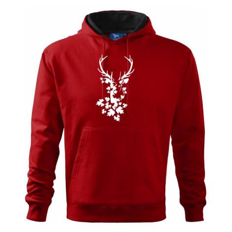 Jelen z listů - Mikina s kapucí hooded sweater