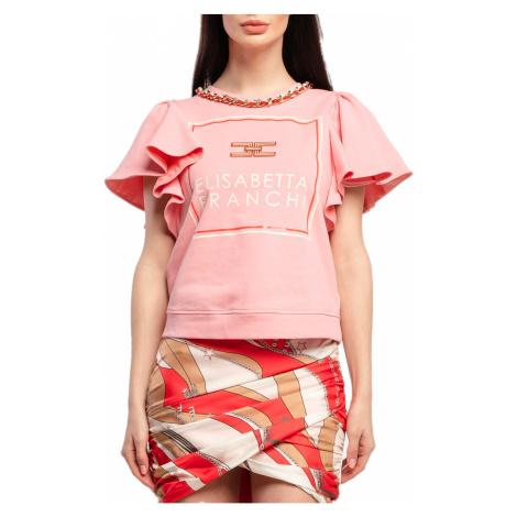 Růžový top - ELISABETTA FRANCHI
