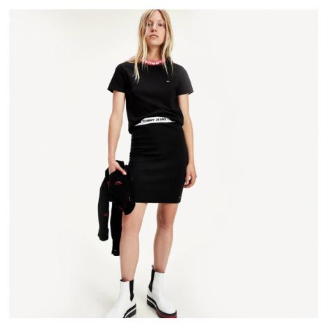 Tommy Jeans dámská černá sukně Tommy Hilfiger