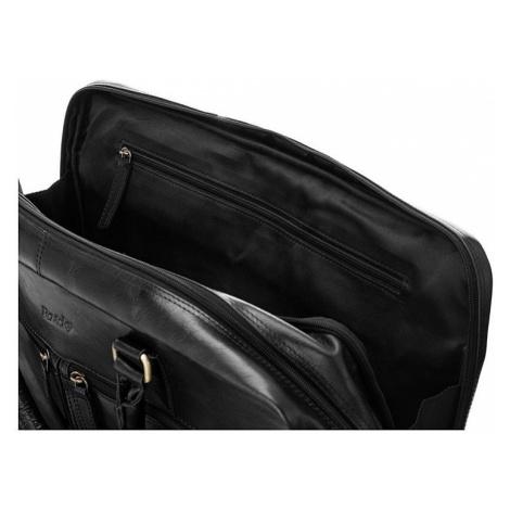 """Rovicky  černá pánská taška na notebook 17"""""""