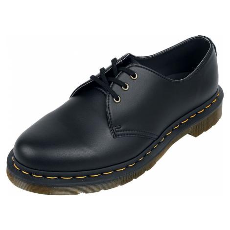 Dr. Martens 1461 Vegan Black Felix Rub Off obuv černá