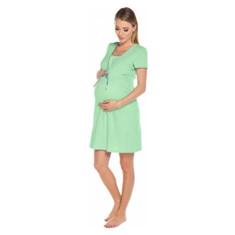 Kojící košile Felicita green Italian Fashion