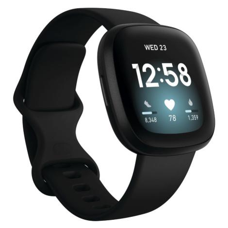 Chytré Hodinky Fitbit Versa 3 Black/black Aluminum