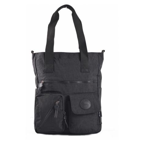 BRIGHT Dámská taška A4 Bright so light Černá, 31 x 13 x 38 (BR18-TKK1333-09TX)