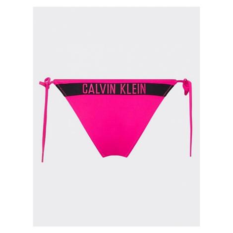 Dámské plavkové kalhotky Calvin Klein KW00965 růžová | růžová