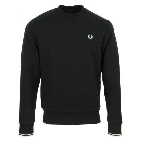 Fred Perry Crew Neck Sweatshirt Černá