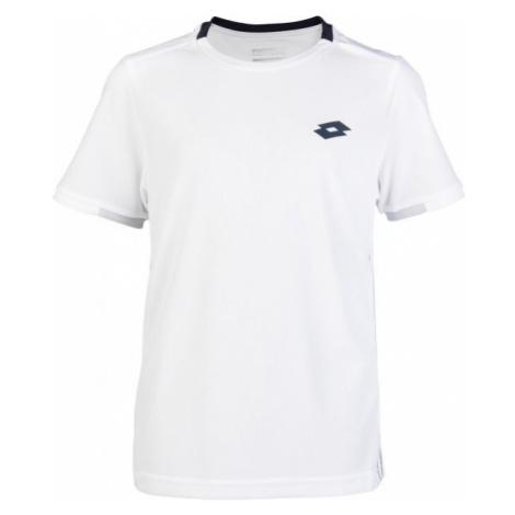 Lotto SQUADRA B TEE PL bílá - Chlapecké tričko