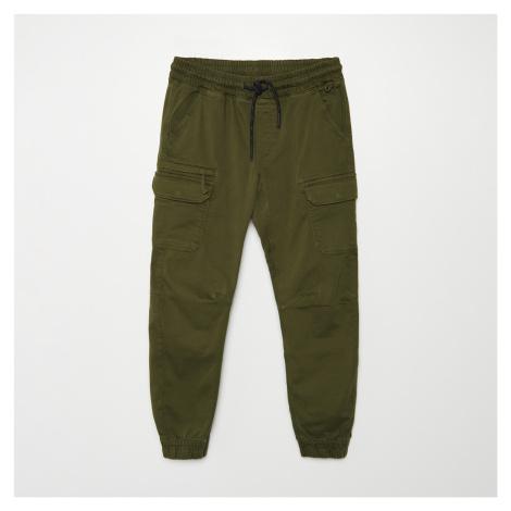 Cropp - Kalhoty JOGGERS CARGO - Khaki