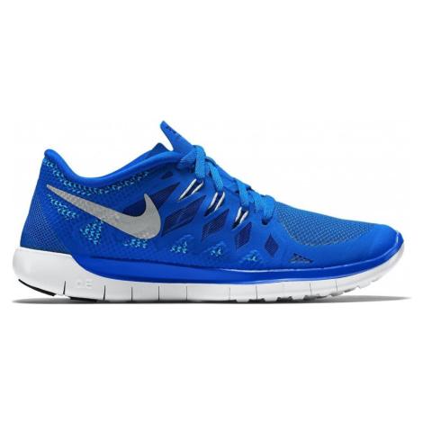 Dětská obuv Nike Free 5.0 Modrá / Bílá