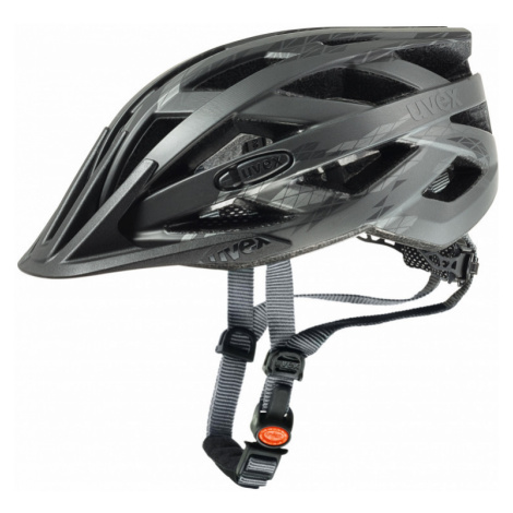 Cyklistická helma Uvex I-VO CC black-smoke mat