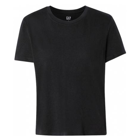 GAP Tričko 'SHRUNKEN' černá