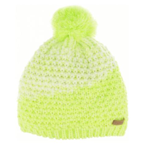 RELAX CATRINA Dětská zimní čepice RKH136A žlutá XXL