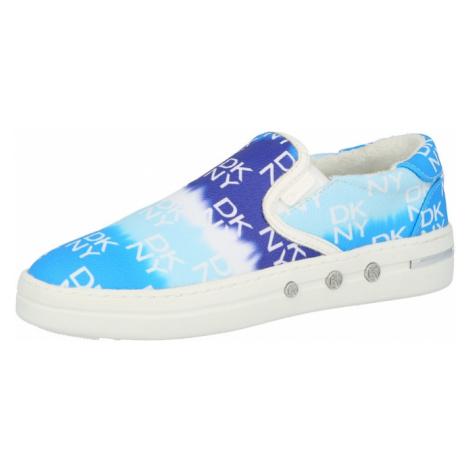 DKNY Slip on boty modrá / tyrkysová / tmavě modrá / bílá