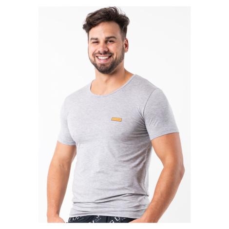 Pánské tričko Guess U92M04 Sv. šedá