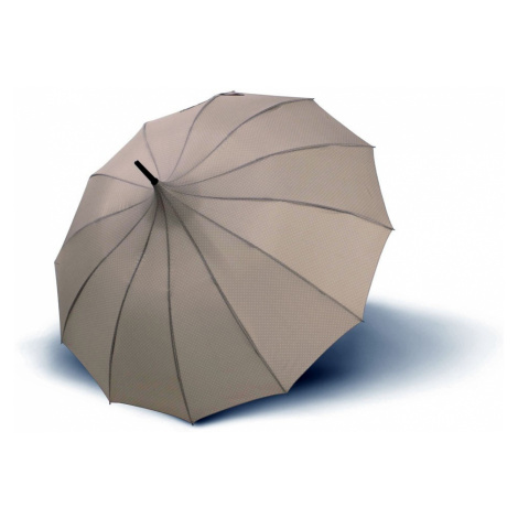 Béžovošedý dámský vystřelovací deštník Pagoda Doppler