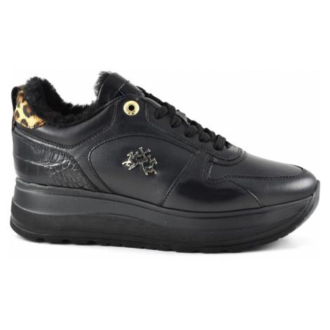 Tenisky La Martina Women'S Shoe Tassel - Coconut Black - Černá