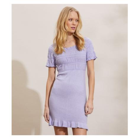 Šaty Odd Molly Lori Dress - Fialová