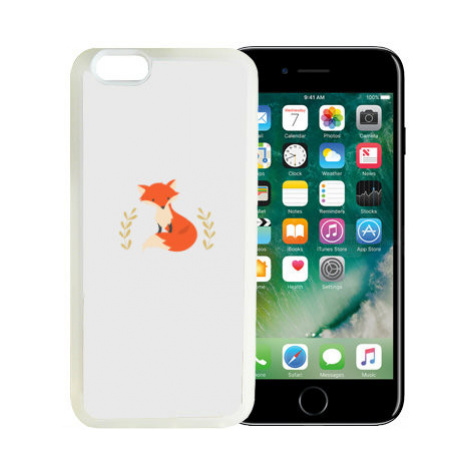 iPhone 7/8 kryt gumový soft Liška Bystrouška